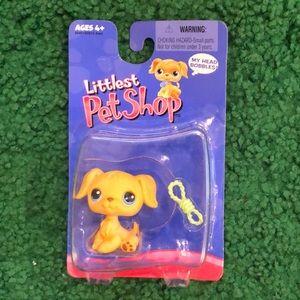 Littlest Pet Shop #21 Golden Retriever Bobblehead